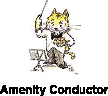 Amenity Conductor 山陽工業キャラクター トライ君